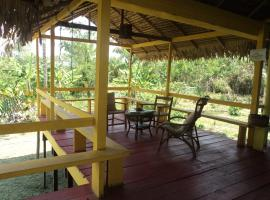 Pousada de Selva Jacaré, Paricatuba (Manaquiri yakınında)