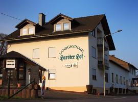 Landgasthaus Hurster-Hof, Windeck (Pracht yakınında)