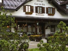 Hotel Cant del Gal, Tonadico (Sagron Mis yakınında)