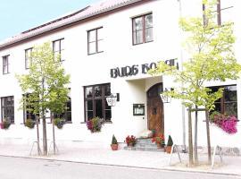Burg Hotel Ziesar, Ziesar (Schopsdorf yakınında)