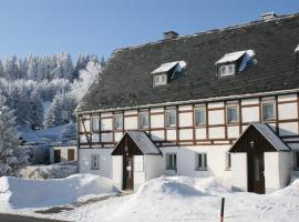 Ferienhaus Am Skihang, Kurort Altenberg (Schönfeld yakınında)