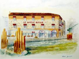 Hotel The Originals Saint-Junien Le Boeuf Rouge (ex Inter-Hotel)