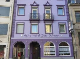 Achathotel Zum Schwan, Idar-Oberstein (Veitsrodt yakınında)