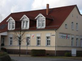 B&B im Landgasthaus Bürgerhaus Berkenbrück, Berkenbruck (Langewahl yakınında)