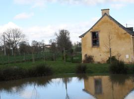 Gîte du Nid d'Hirondelle, Montreuil-le-Gast (рядом с городом La Mézière)