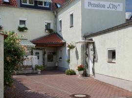 "Pension ""City"", Oschatz (Cavertitz yakınında)"