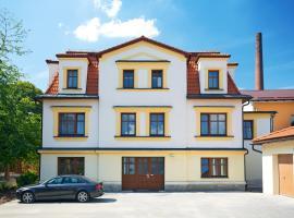 Vila Encore, Valašské Meziříčí (Hustopeče Nad Bečvou yakınında)