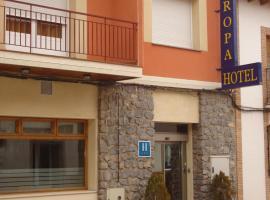 Hotel Europa, Villacañas (рядом с городом Tembleque)