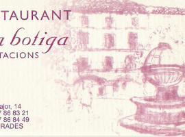 Hotel La Botiga, Prades (Capafons yakınında)