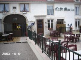 Hotel Saint Martin, Bourg-Sainte-Marie (рядом с городом Lafauche)