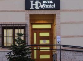 Hotel Daymiel, Daimiel (Arenas de San Juan yakınında)