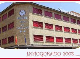 Hotel Villa de Zaragoza, Касетас (рядом с городом Торрес-де-Беррельен)