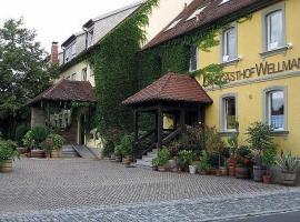 Landgasthof Wellmann, Markt Taschendorf (Scheinfeld yakınında)