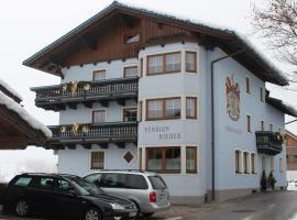 Pension Rieder, Leogang (Ullach yakınında)