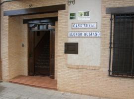 Casa Rural Alonso Quijano, Argamasilla de Alba