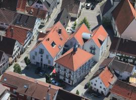 Hotel-Gasthof Lamm, Vaihingen an der Enz (Ochsenbach yakınında)