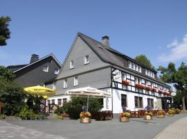 Ferienwohnungen Landgasthof Gilsbach, Winterberg (Langewiese yakınında)