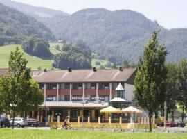 Parkhotel Wangs, Wangs (Weisstannen yakınında)