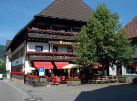 Gasthaus-Krone-Post, Simonswald (Untersimonswald yakınında)