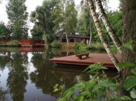 Rybolov pro děti a dospělé, Lázně Bohdaneč (Choltice yakınında)