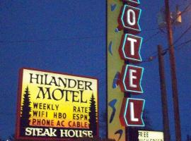 Hilander Motel, Mountain Home
