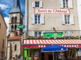 Hotel De L'Abbaye, Sauxillanges (рядом с городом Chabreyras)