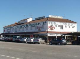Hostal Restaurante Carlos III, Aldea Quintana (La Guijarrosa yakınında)