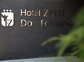 Hotel Zalle Don Fernando, Гранда (рядом с городом Норенья)