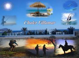 Alojamiento Chalet Villamar, Los Escullos (La Isleta del Moro yakınında)