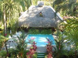 Hotel La Palapa Eco Lodge Resort, Portalón (Matapalo yakınında)