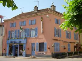 Hotel du Donjon, Champlitte-et-le-Prélot (рядом с городом Grandchamp)