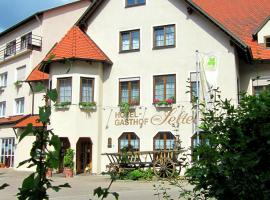 Hotel Gasthof am Selteltor, Wiesensteig (Mühlhausen im Täle yakınında)