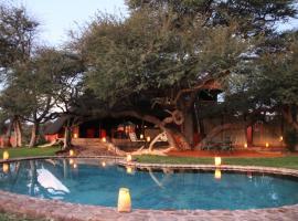 Camelthorn Kalahari Lodge, Hoachanas