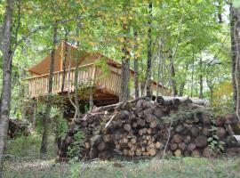 Camping Glamping Terre Rouge, Villecomtal