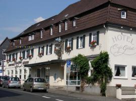 Unser kleines Hotel Café Göbel, Laubach (Grünberg yakınında)
