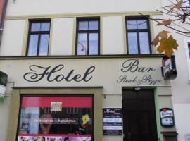 Hotel Brušperk, Brušperk (Stará Ves nad Ondřejnicí yakınında)