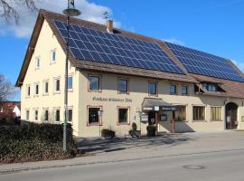 Schwarzer Adler, Schwaighausen (Sontheim yakınında)