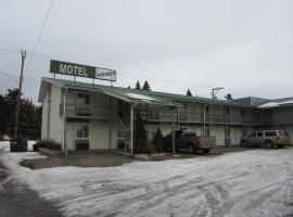 Fireweed Motel, Smithers (Evelyn yakınında)