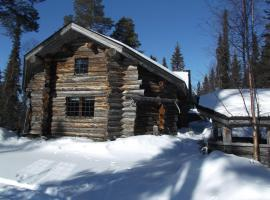 Pukelo Cottage, Салла (рядом с городом Tikkala)