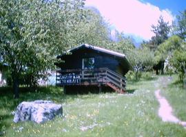 Chalets du Vieux Frêne, Saint-Hilaire (рядом с городом Бернен)