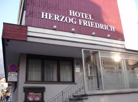 Hotel Herzog Friedrich, Bludenz