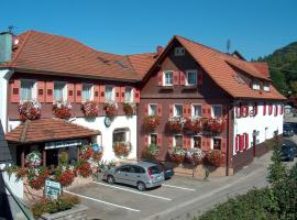 Landgasthof-Pension Ochsen, Forbach (Weisenbach yakınında)