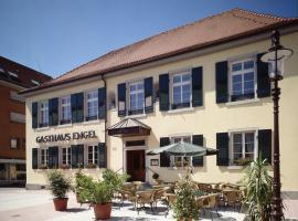Gasthaus zum Engel, Rastatt (Steinmauern yakınında)