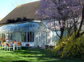 Chez Séverine & Edward, Sainte-Vertu (рядом с городом Noyers-sur-Serein)