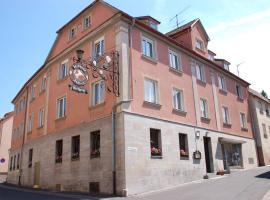 Gasthaus Zum güldenen Rößlein, Homburg (Trennfeld yakınında)