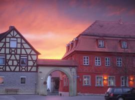 Rotes Ross Marktbergel, Marktbergel (Burgbernheim yakınında)