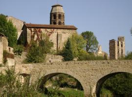 L'Aubergiste de la Fontaine, Lavaudieu (рядом с городом Saint-Didier-sur-Doulon)