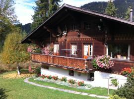 Chalet Nyati, Gstaad (Hornkessel yakınında)