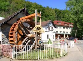 Hotel Skalní Mlýn, Blansko (Těchov yakınında)