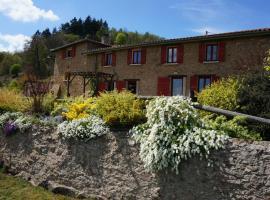 La Ferme du Thiollet, Montromant (рядом с городом Saint-Martin-en-Haut)